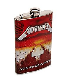 Master Of Puppets Metallica Flask 8 oz. - The Master Collection