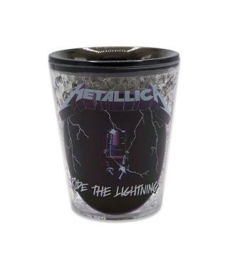Metallica Ride the Lightning frozen shot glass
