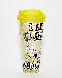 Tweety Travel Mug - Looney Tunes