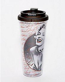 Marilyn Monroe Travel Mug - 24 oz.
