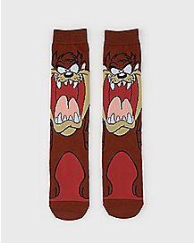 Taz Crew Socks - Looney Tunes