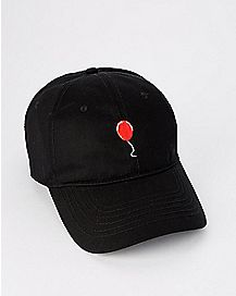 Red Balloon Dad Hat - It