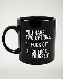 Fuck List Coffee Mug - 22 oz.