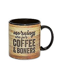 Morning Wood Coffee Mug - 22 oz.