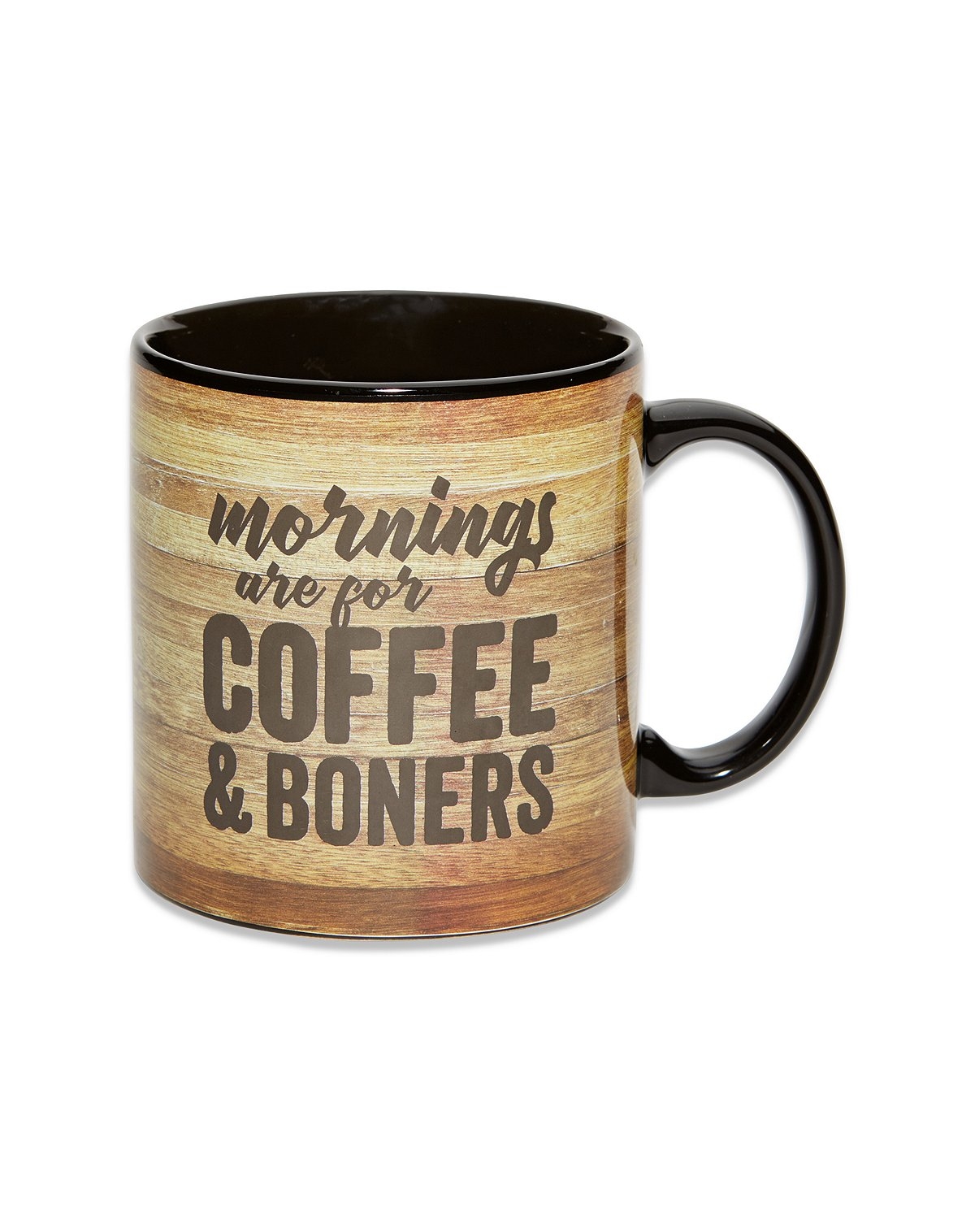 morning wood coffee mug