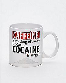 Caffeine Drug of Choice Coffee Mug - 20 oz.