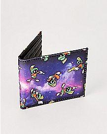 Galaxy Marvin The Martian Bifold Wallet - Looney Tunes