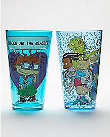 Rugrats Pint Glasses 2 Pack 16 oz. - Nickelodeon