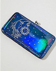 Celestial Moon Sun Wallet