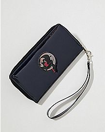 Iridescent Moon Lady Zip Wallet
