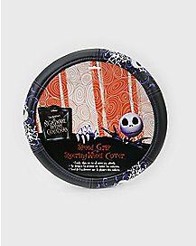 Skull and Bones Jack Skellington Steering Wheel Cover - The Nightmare Before Christmas