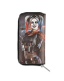 Harley Quinn Zipper Wallet - DC Comics
