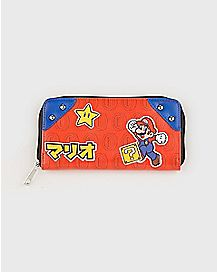 Super Mario Bros. Zipper Wallet - Nintendo