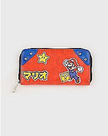 Super Mario Bros. Zipper Wallet - Nintendo