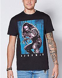 Aquaman T Shirt - DC Comics