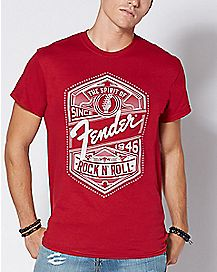 The Spirit of Fender T Shirt