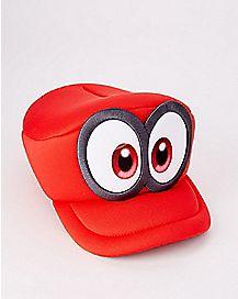 Mario Cosplay Hat - Super Mario Odyssey