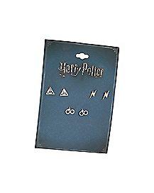 Harry Potter Earrings - 3 Pair