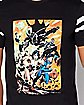 Varsity Justice League T Shirt - DC Comics