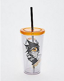 Tracer Cup with Straw 20 oz. - Overwatch