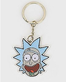 Drool Rick Sanchez Keychain - Rick and Morty