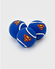 Superman Dog Squeaky Toy 3 Pack - DC Comics
