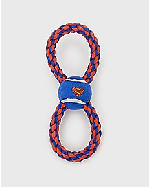 Superman Rope Dog Toy - DC Comics