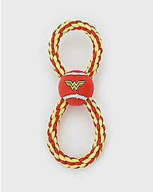 Wonder Woman Rope Dog Toy - DC Comics