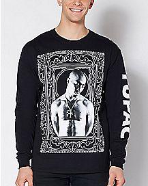 Tupac Long Sleeve Shirt