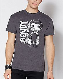 Logo Bendy and the Ink Machine T Shirt