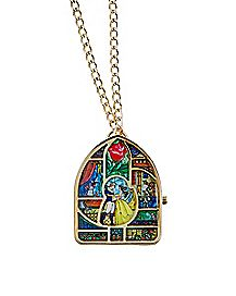 Beauty and the Beast Watch Necklace - Disney