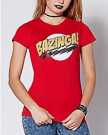Bazinga T Shirt - The Big Bang Theory
