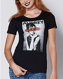 Black and White Audrey T Shirt
