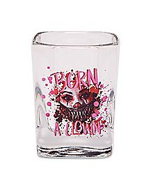 Giggles the Clown Shot Glass 2.5 oz. - Crypt TV