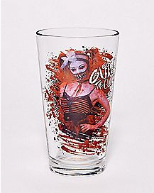Giggles the Clown Pint Glass - Crypt TV