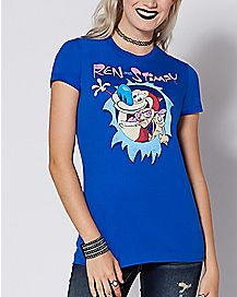 Ren and Stimpy T Shirt - The Ren and Stimpy Show