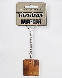 Overdrive Puzzle Keychain