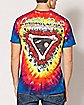 Tie Dye Skull Grateful Dead T Shirt