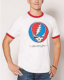 Steal Your Face Grateful Dead T Shirt