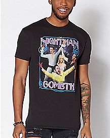 The Nightman Cometh T Shirt - It's Always Sunny In Philadelphia
