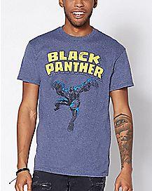 Vintage Black Panther T Shirt - Marvel
