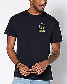 Pocket Logo Nirvana T Shirt