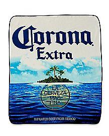 Island Corona Extra Fleece Blanket