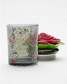 Rose Bud Storage Jar
