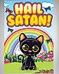 Hail Satan Kitten Poster