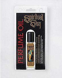 Spiritual Sky Carded Perfume  Oil - Musk