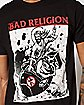 Atomic Jesus Bad Religion T Shirt