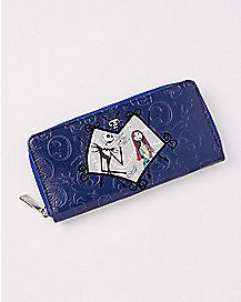 Jack and Sally Zipper Wallet - The Nightmare Before Christmas