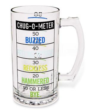 Chug-O-Meter Beer Mug - 52 oz.