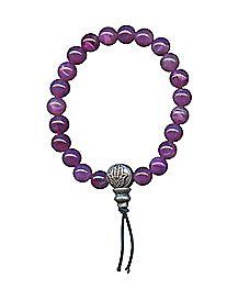 Purple Power Beaded Bracelet